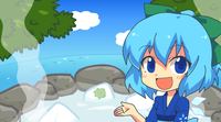 Freezing, Tomboyish Steam of Love, Cirno's Hot Spring swf.png