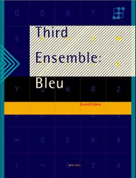 THIRD ENSEMBLE: BLEU album cover