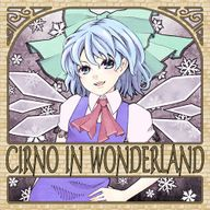 CIRNO IN WONDERLAND album cover