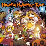 Haunted Halloween Town album cover