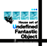 "House set of ""Undefined Fantastic Object"" album cover"