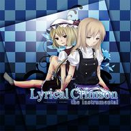 Lyrical Crimson the instrumental album cover
