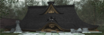 Hakurei Shrine collapsed and needs rebuilding